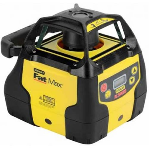 stanley fat max rl250gr single slope laser w detector. Black Bedroom Furniture Sets. Home Design Ideas